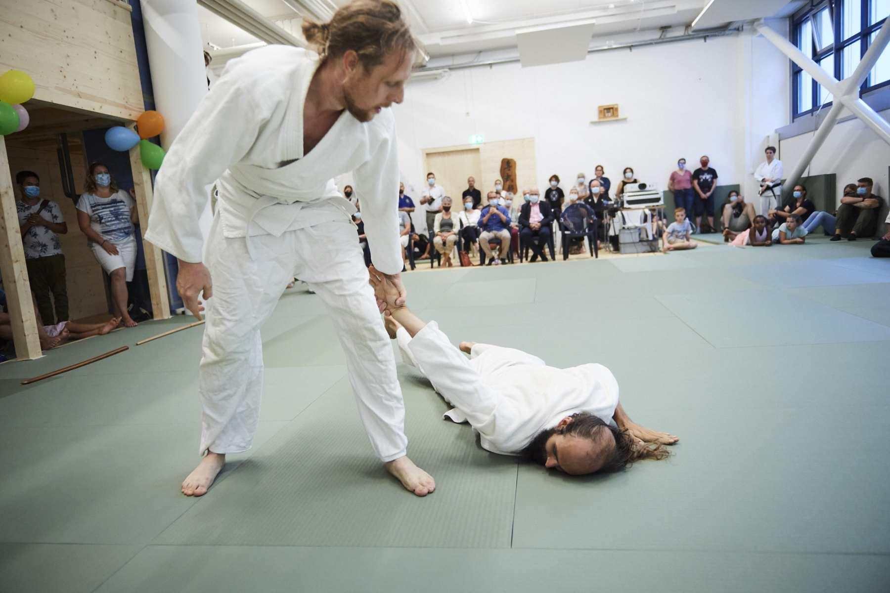 Schweiz, Kriens, Eröffnungsfest der Kendo- und Karateschule Senbukan - Budoschule Luzern. © Fabian Biasio 5.9.2020