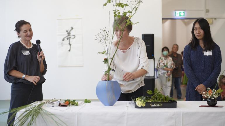IKEBANA, Japanische Blumenkunst, Gestaltungsformen