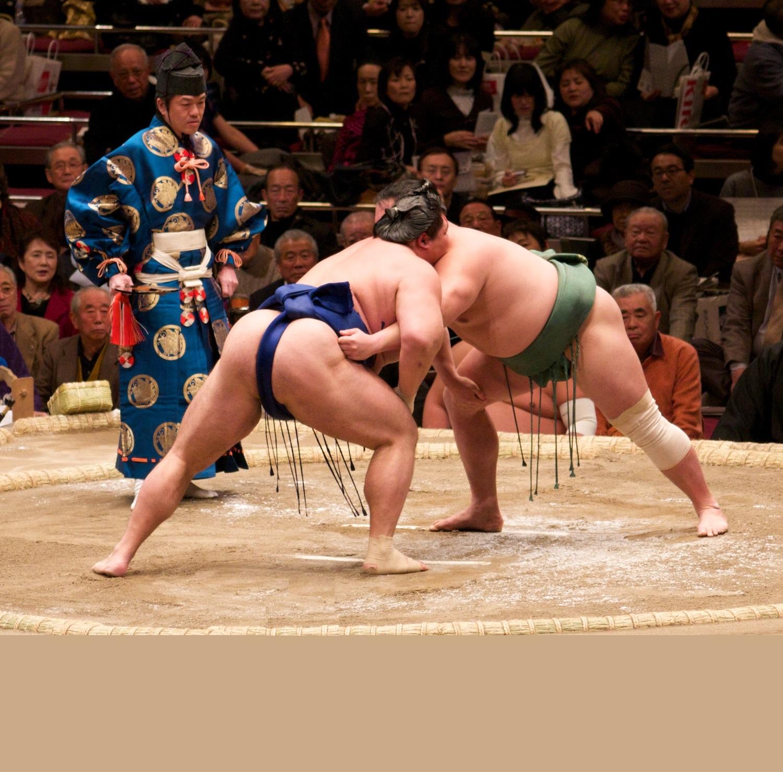 Sumo, japanischer Ringkampf